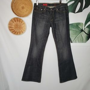 AG Adriano Goldschmied Club Jeans Flare Dark Wash